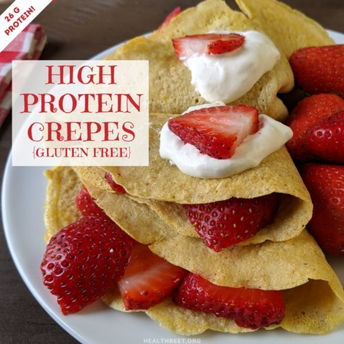 high protein crepe recipe