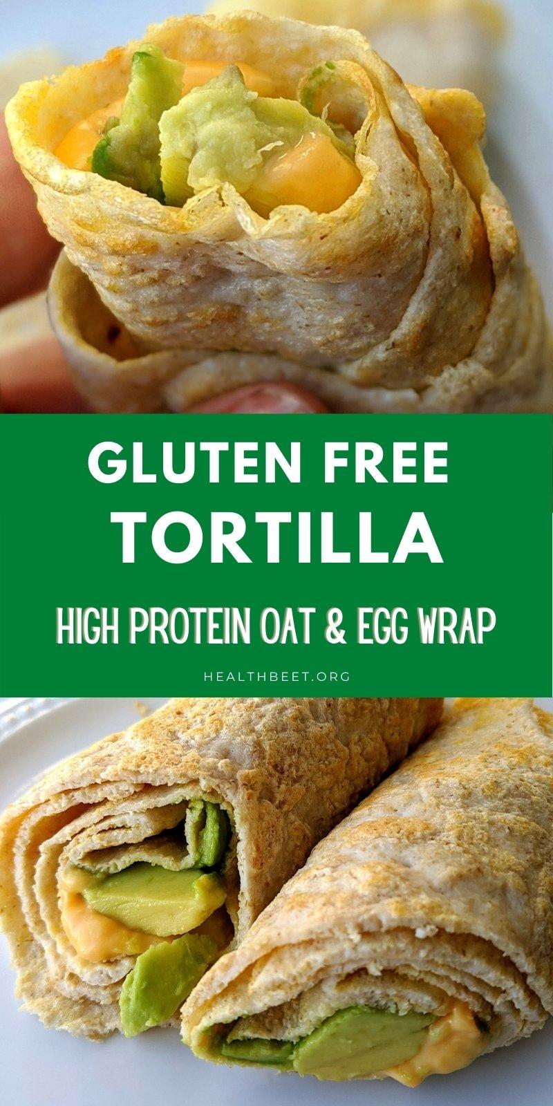 high protein gluten free tortilla recipe