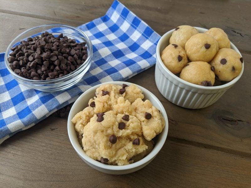 protein powder cookie dough landscape