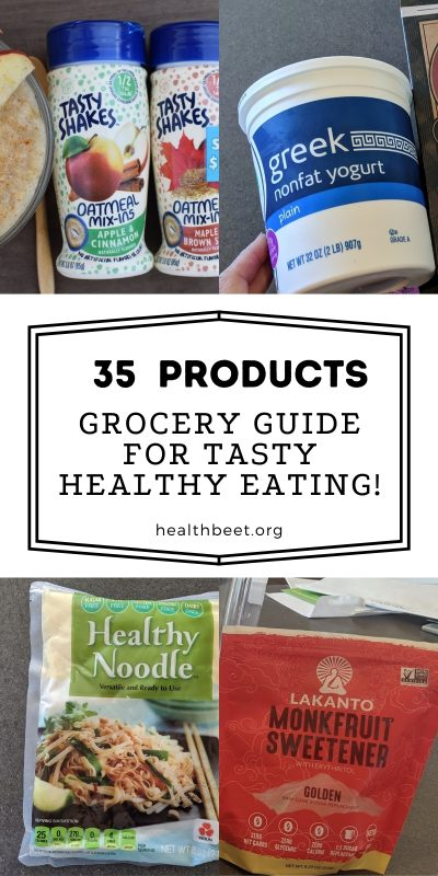 35 products for healthy eating