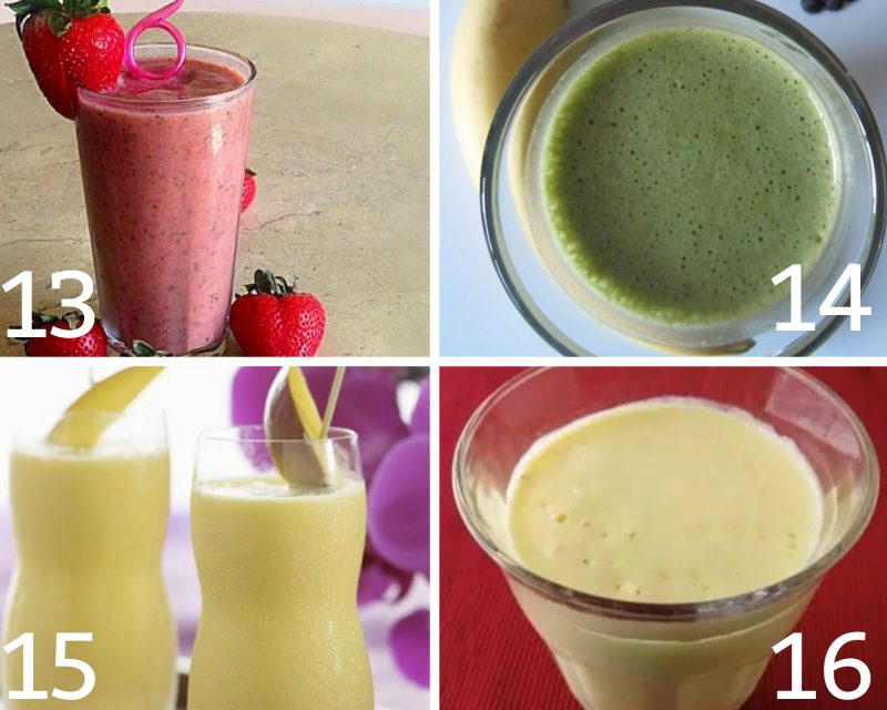 healthy low calorie smoothies 13-16