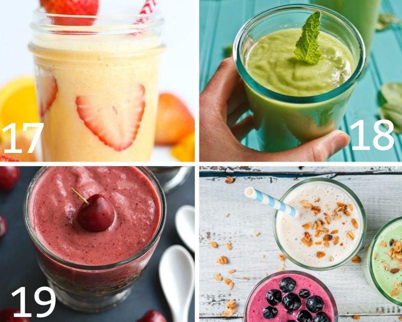 heathy breakfast smoothies 17-19