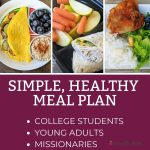 Simple Healthy Meal Plan for Young Adults