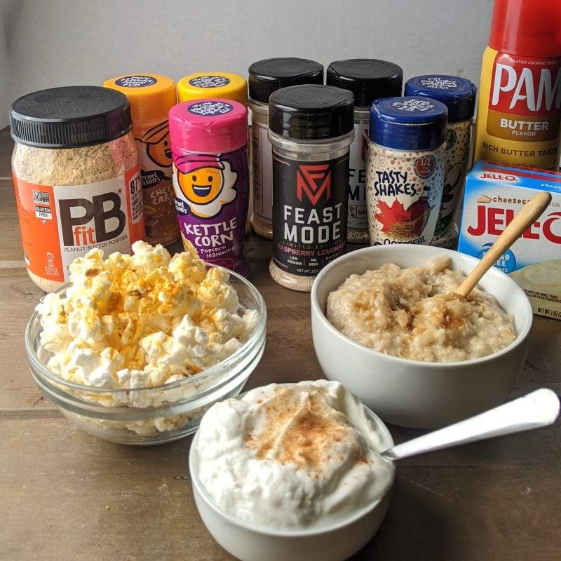 top healthy seasonings and shake ins