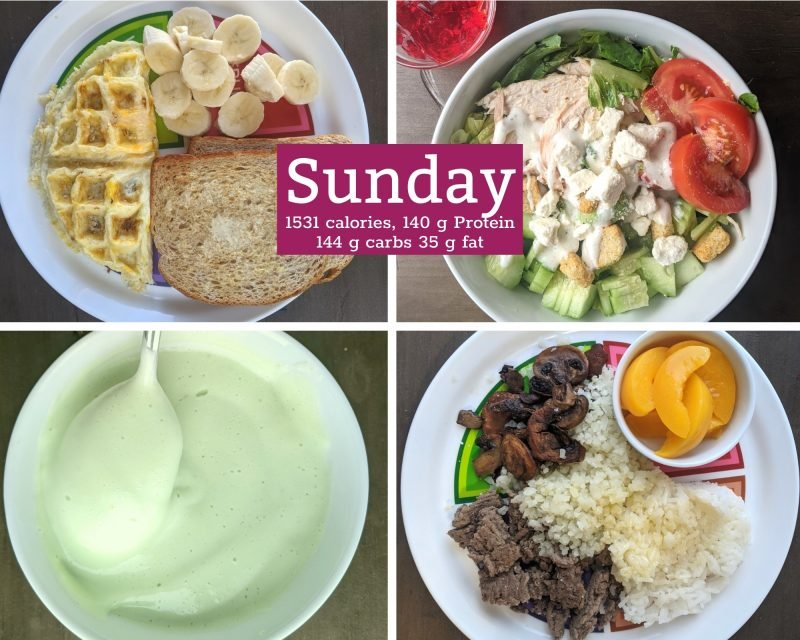 1 healthy meals for Sunday