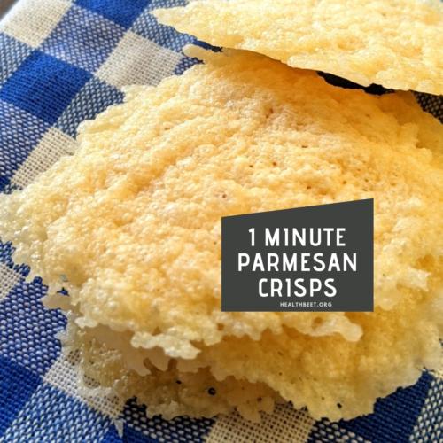 1 minute parmesan crisps thumbnail