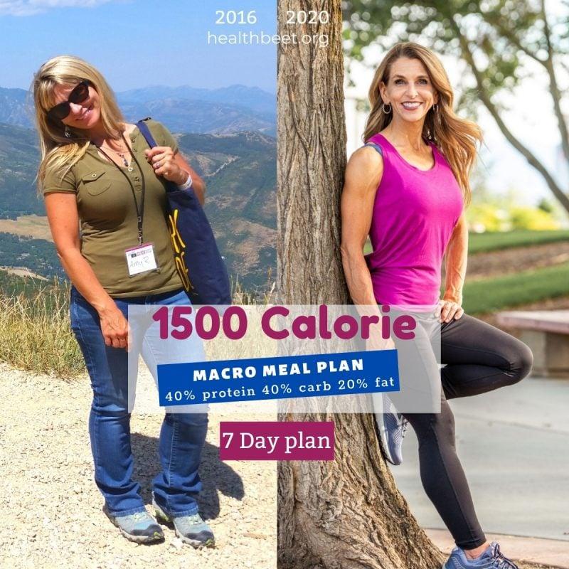 1500 calorie printable healthy meal plan