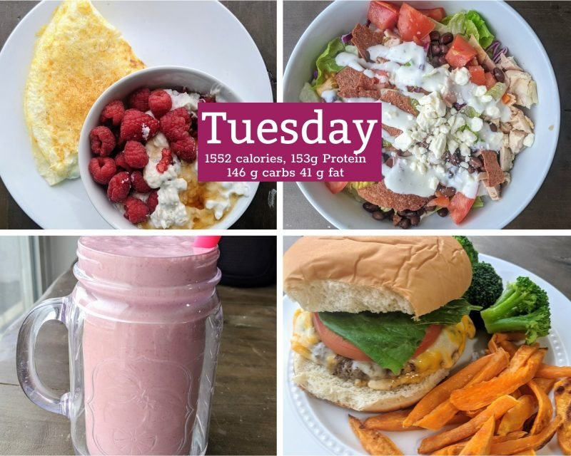 3 healthy meals for tuesday