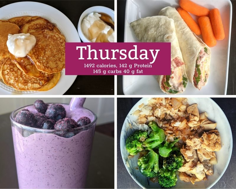 5 healthy meals for thursday