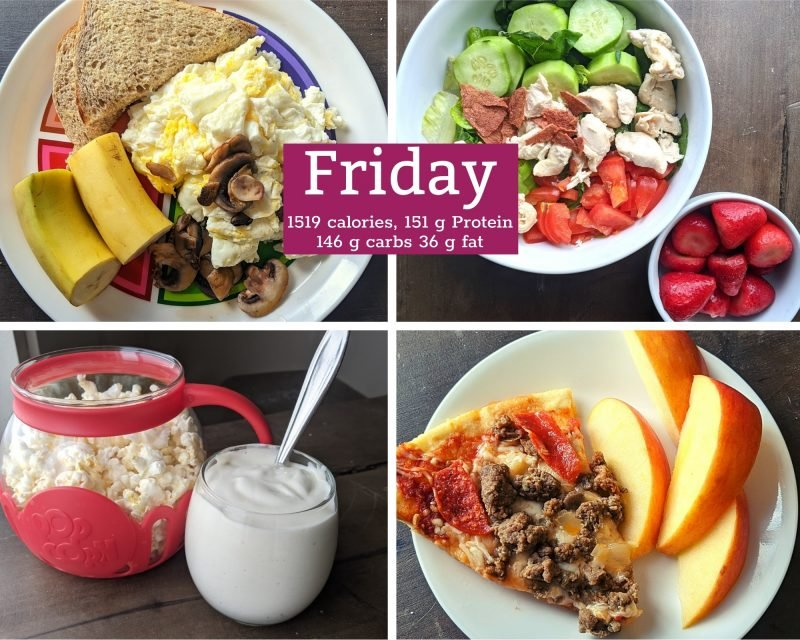 6 healthy meals for Friday