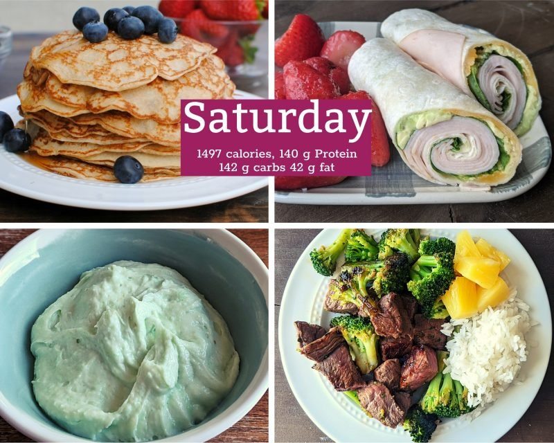 7 healthy meals for Saturday