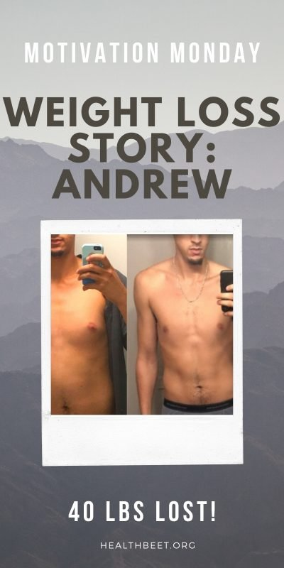 Andrew lopez weight loss success story