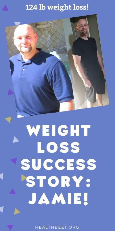 Jamies 124 lb weight loss success story