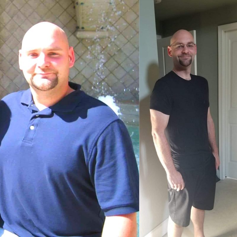 Jamies weight loss before and after pictures