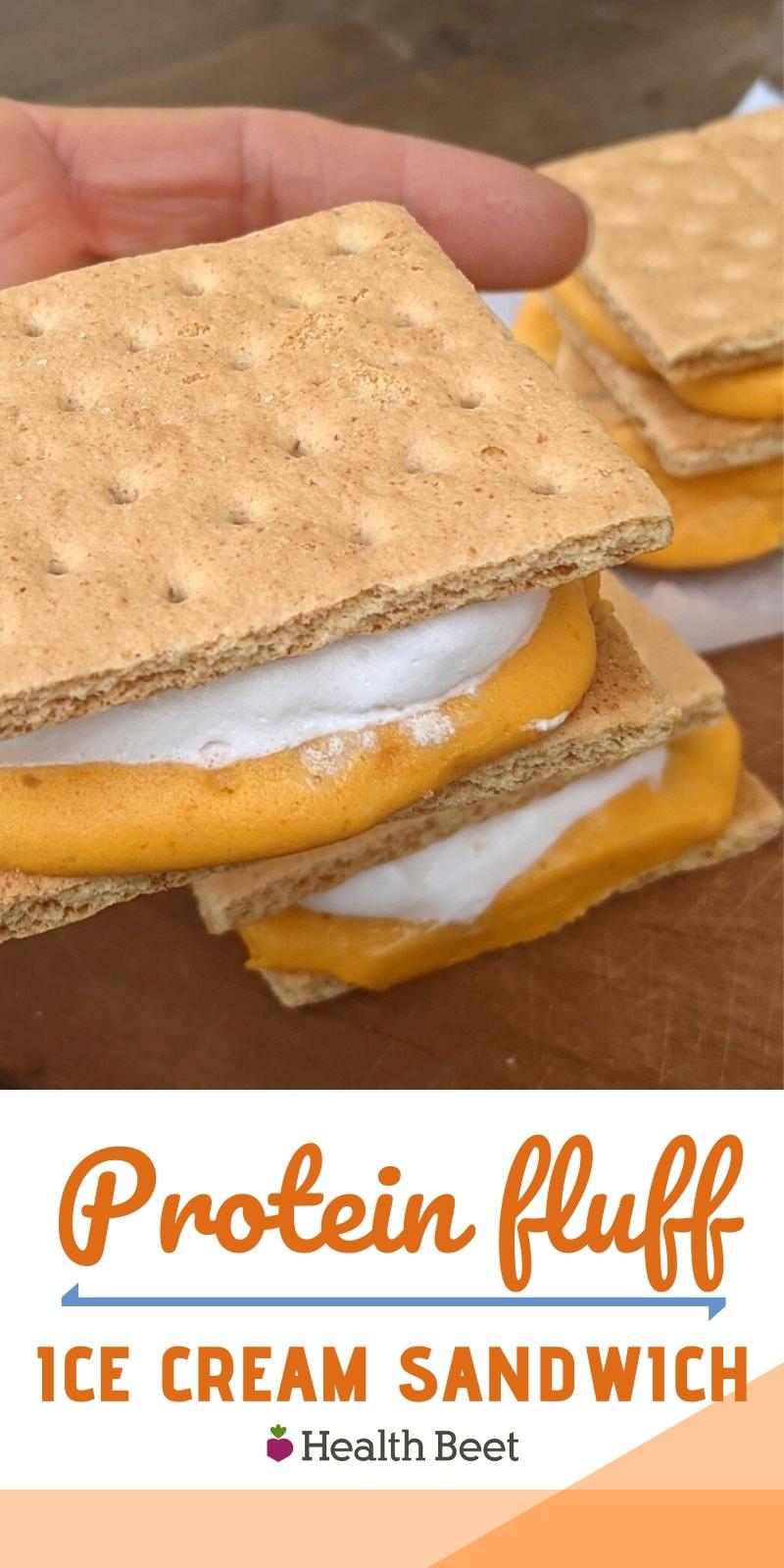 Protein fluff Ice Cream Sandwiches