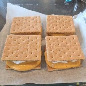 graham cracker protein ice cream sandwiches