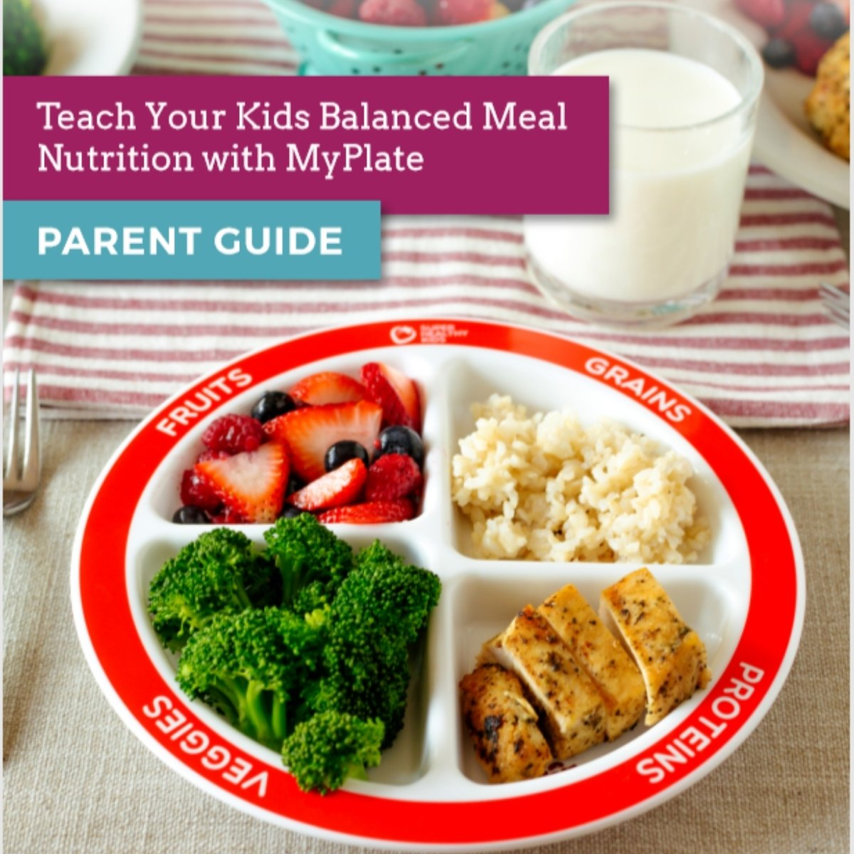 parent guide nutrition lesson plan