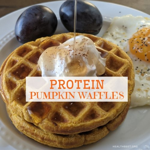 protein pumpkin waffle thumbnail