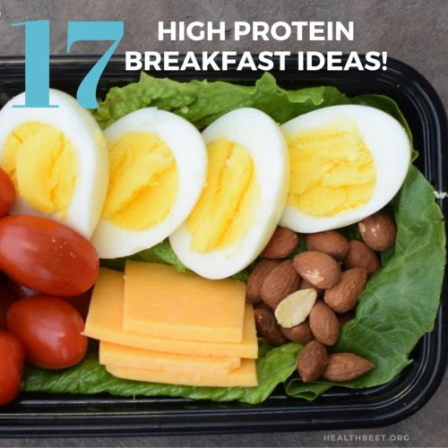 17 high protein and low calorie breakfast ideas