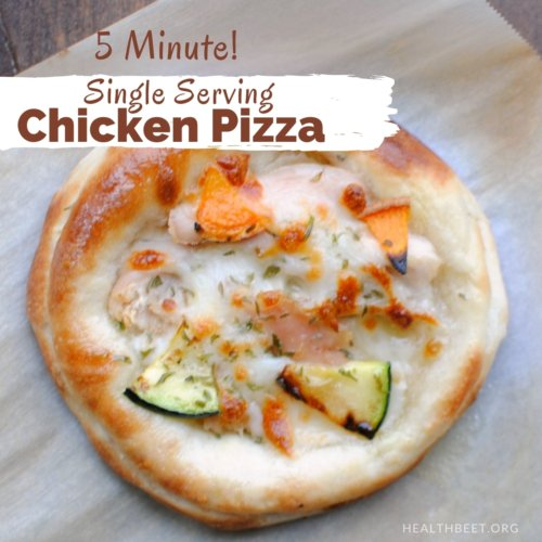 5 minute single serving personal pizza thumbnail