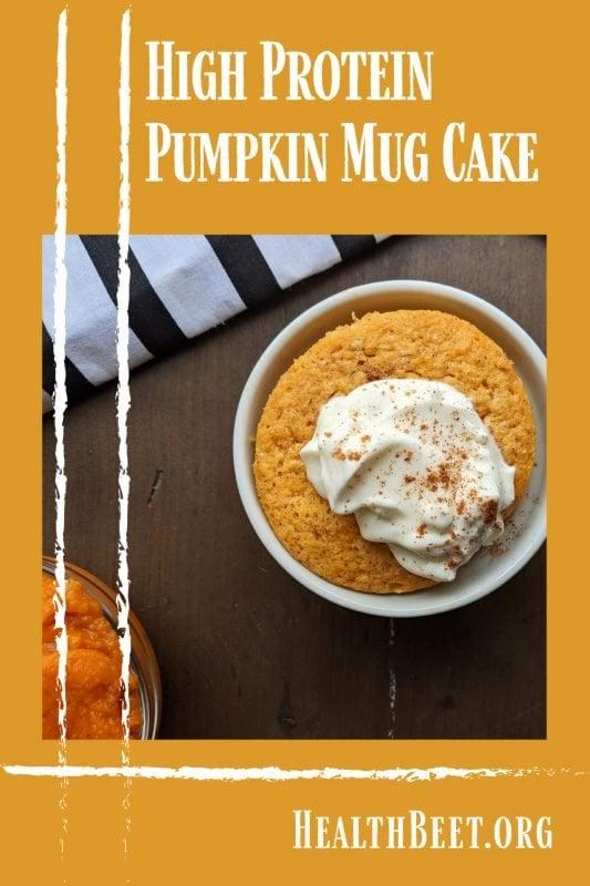 Chalk stripes Pumpkin Mug Cake Pin 1000x1500