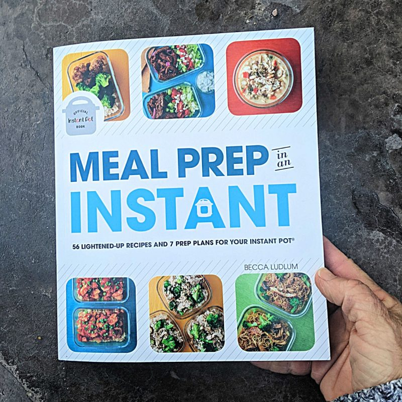 meal prep in an instant book cover (Custom)