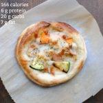 mini chicken pizza with nutrition