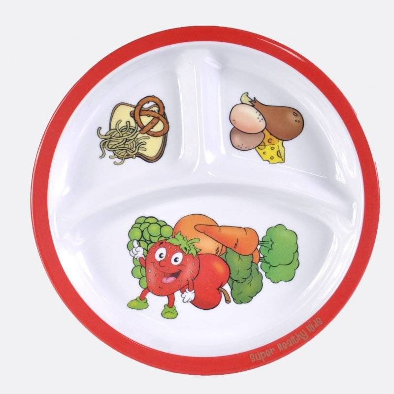 original portion plate from health beet