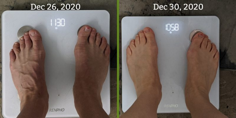 weight loss from prolon