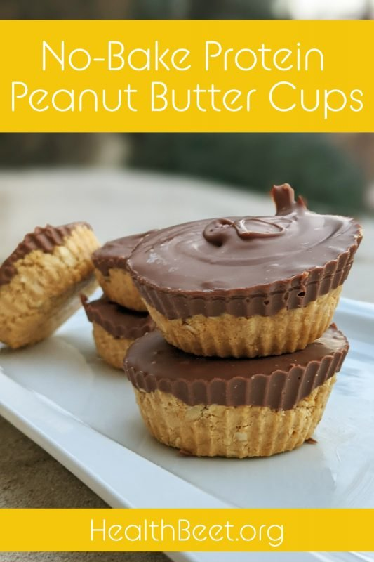 Peanut Butter Cups Simple Yellow Pin 1000x1500
