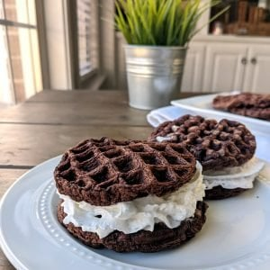Two Chocolate Waffles 1200x1200