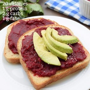 beet hummus with calories and macros