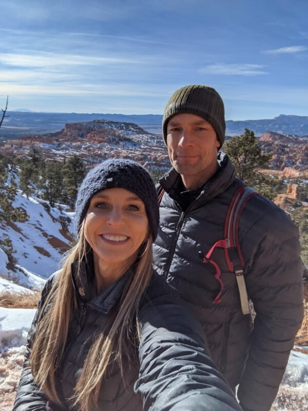 hiking in bryce on anniversary