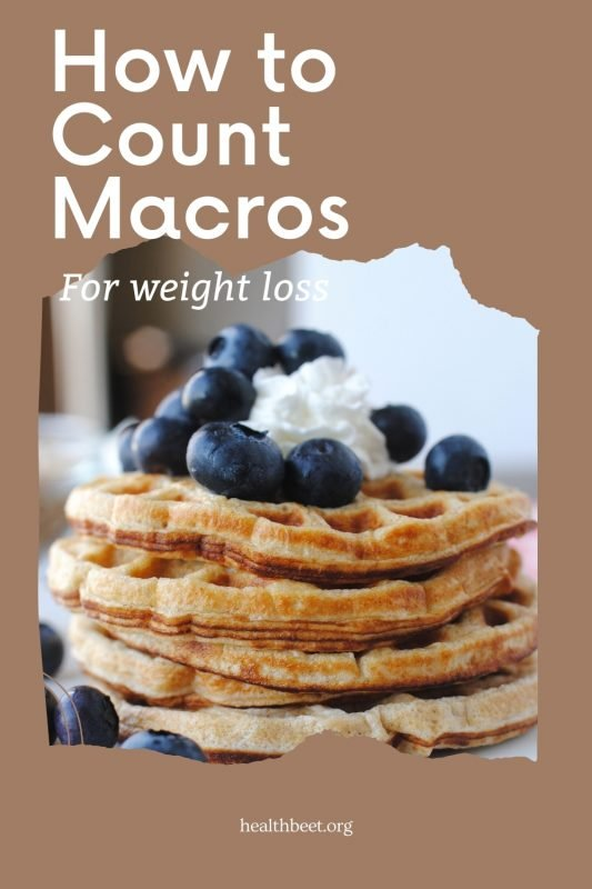 how to count macros for losing weight