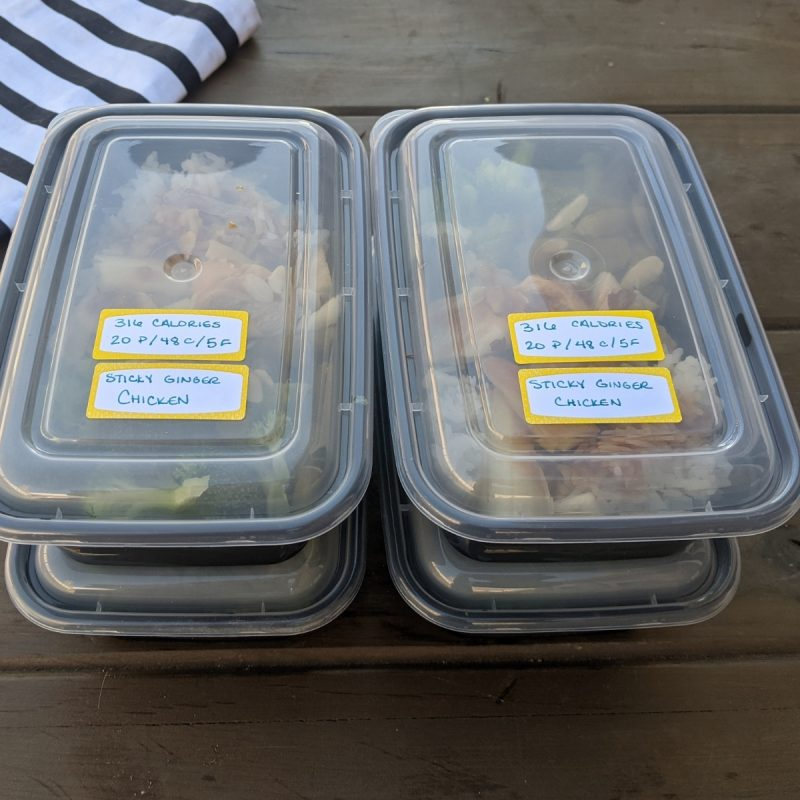 lean cuisine copycat meal 300 calorie Sticky Ginger Chicken
