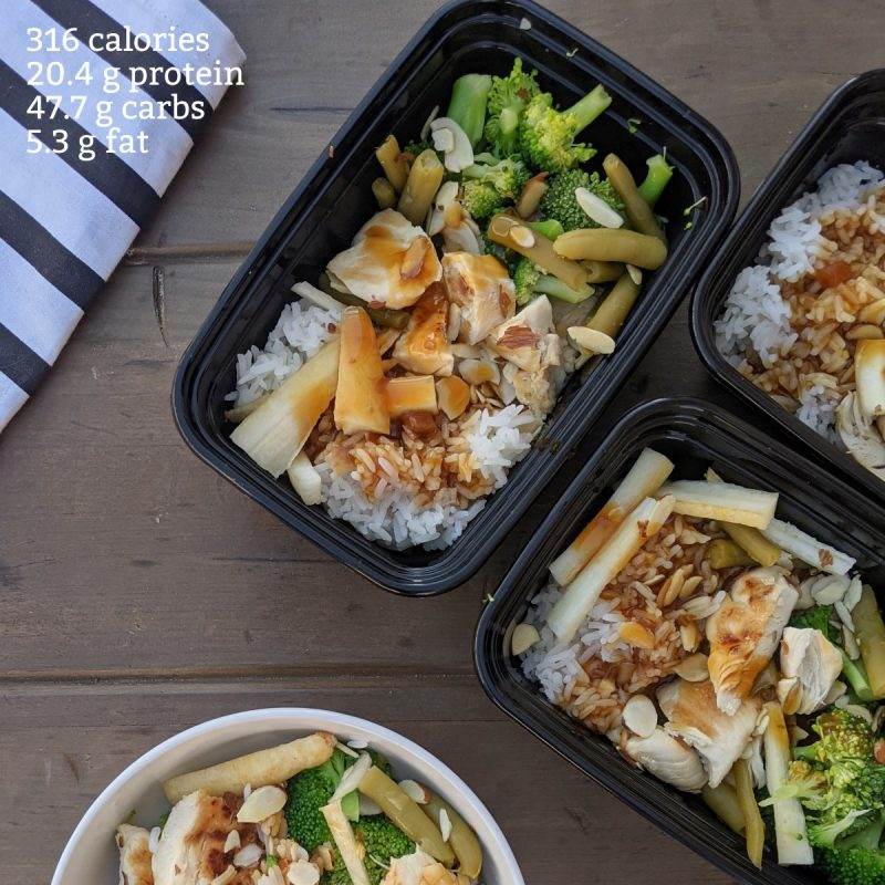 lean cuisine sticky ginger chicken with calories and macros (Custom)