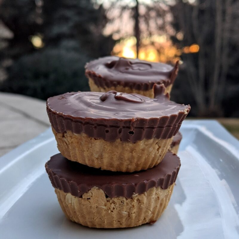 protein peanut butter cups by health beet