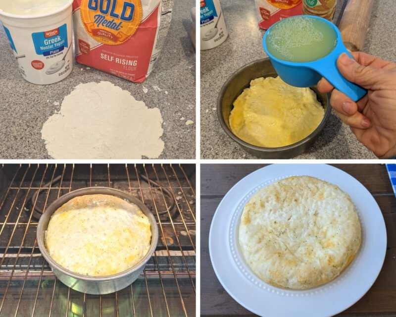 steps to make egg white pizza