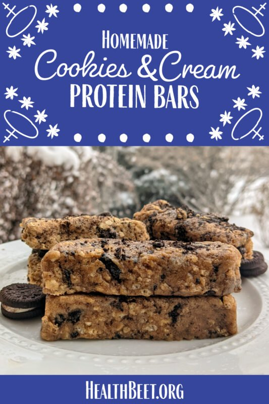 Cookies and Cream Protein Bar Oreo Brand Pins 1000x1500