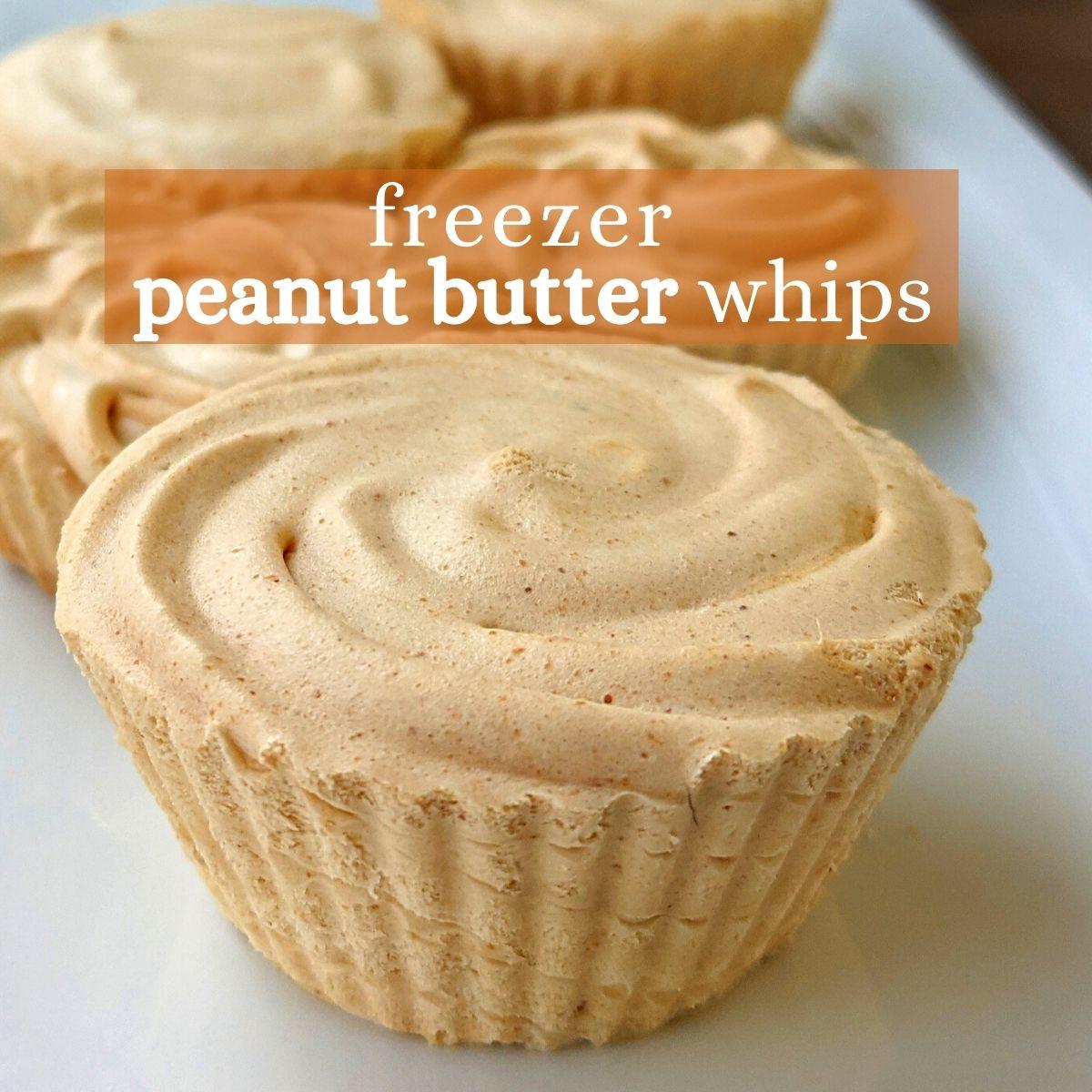 Freezer peanut butter whips low calorie thumbnail