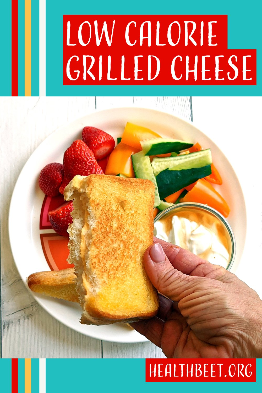 Low calorie grilled cheese