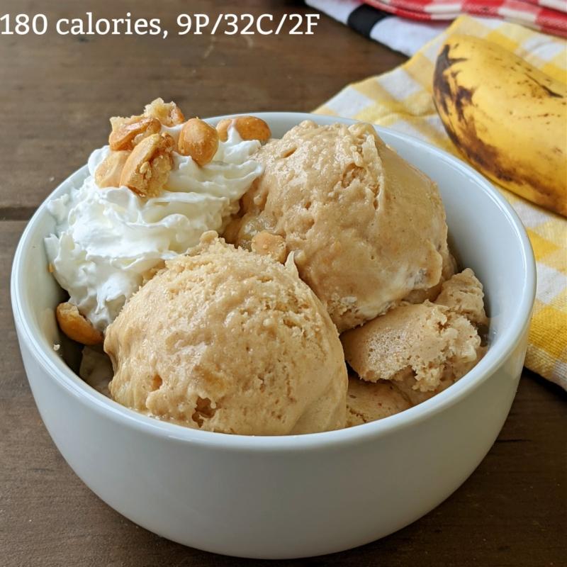 Protein peanut butter ice cream