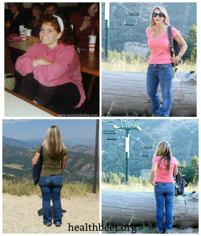 collage of before and after pics