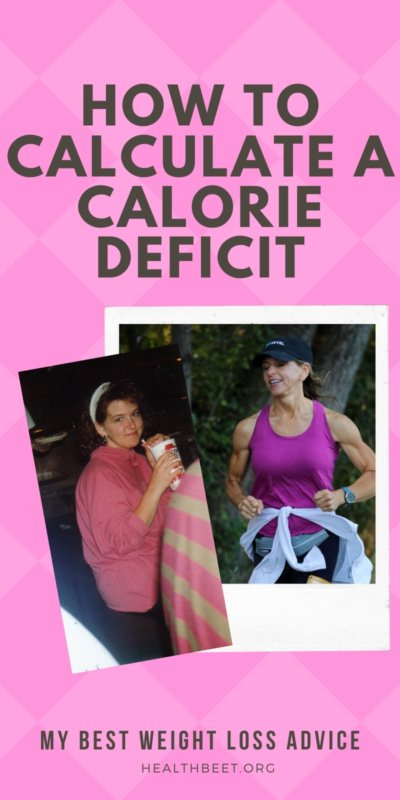 how to calculate a calorie deficit by amy roskelley of health beet
