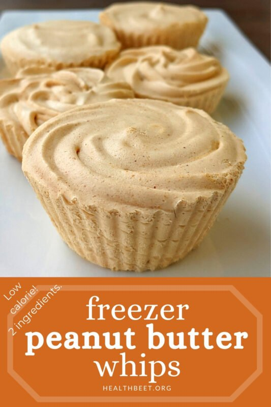 low calorie freezer peanut butter whips
