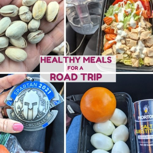 Healthy meals for our road trip