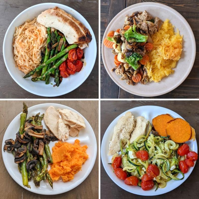 Yemek hazırlık akşam yemeklerinden yapılan yemekler