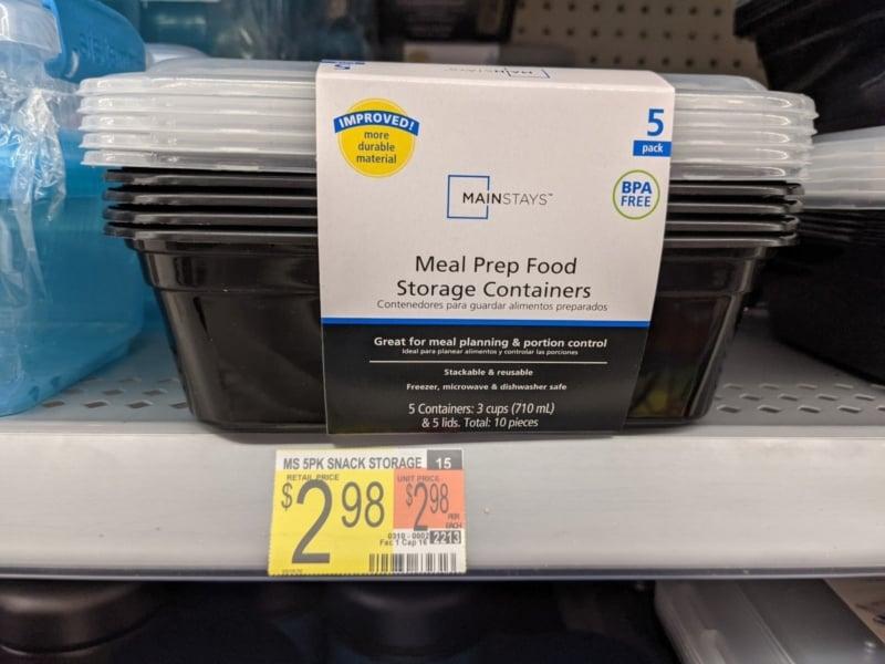 Walmart'tan yemek hazırlama kapları