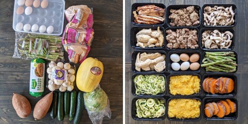 2. hafta hazırlık öncesi ve sonrası yemek hazırlığı