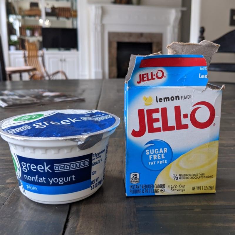 yogurt and sugar free pudding mix